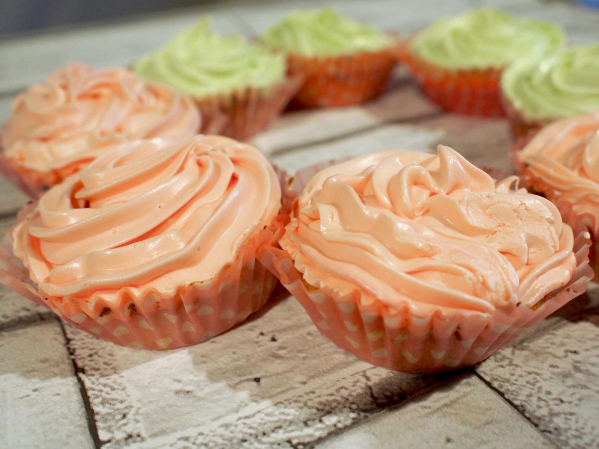 Agave Nectar & Almond Cupcakes